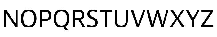 Bernina Sans Compressed Regular Font UPPERCASE