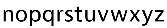 Bernina Sans Compressed Regular Font LOWERCASE