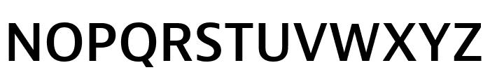 Bernina Sans Condensed Semibold Font UPPERCASE
