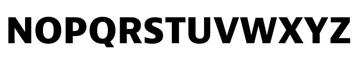 Bernino Sans Compressed Extrabold Font UPPERCASE