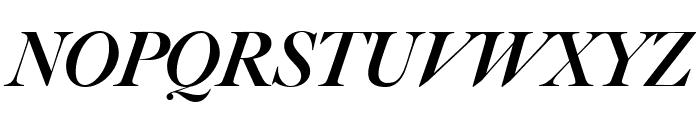 Big Caslon FB Black Italic Font UPPERCASE