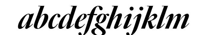 Big Caslon FB Black Italic Font LOWERCASE