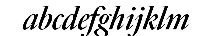 Big Caslon FB Bold Italic Font LOWERCASE