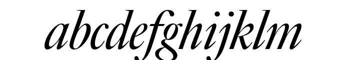 Big Caslon FB Italic Font LOWERCASE