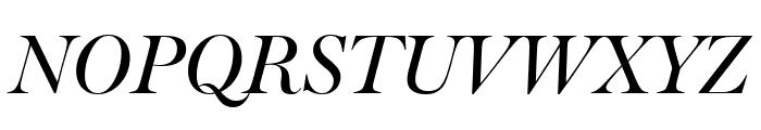 Big Moore Italic Font UPPERCASE