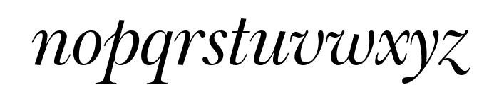 Big Moore Italic Font LOWERCASE