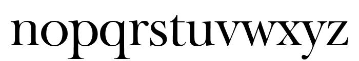 Big Moore Regular Font LOWERCASE