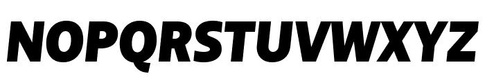 BigCity Grotesque Pro Heavy Italic Font UPPERCASE