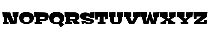 Bigfish Regular Font UPPERCASE
