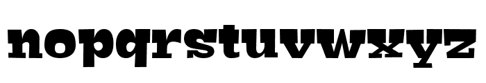 Bigfish Regular Font LOWERCASE