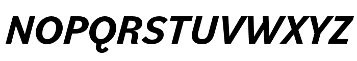 Bilo Bold Italic Font UPPERCASE