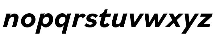 Bilo Bold Italic Font LOWERCASE