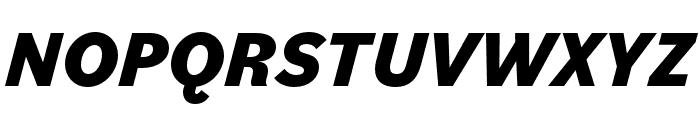 Bilo ExtraBold Italic Font UPPERCASE