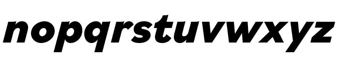 Bilo ExtraBold Italic Font LOWERCASE
