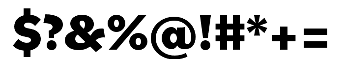 Bilo ExtraBold Font OTHER CHARS