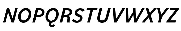 Bilo Medium Italic Font UPPERCASE