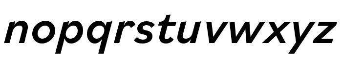 Bilo Medium Italic Font LOWERCASE