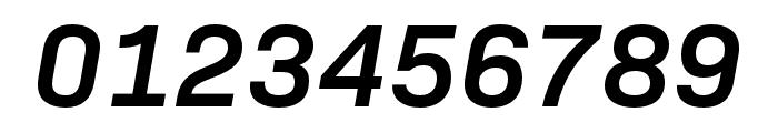 Bio Sans SemiBold Italic Font OTHER CHARS