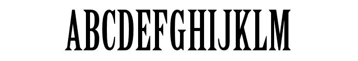 Birch Std Regular Font UPPERCASE