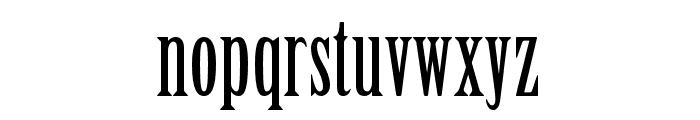 Birch Std Regular Font LOWERCASE