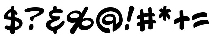 Blambot Pro BB Regular Font OTHER CHARS