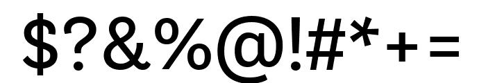 Bligh Regular Font OTHER CHARS