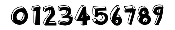 Blockhead OT DarkSide Font OTHER CHARS