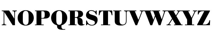 Bodoni URW Extra Narrow Bold Font UPPERCASE