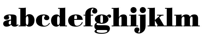 Bodoni URW Extra Narrow Bold Font LOWERCASE