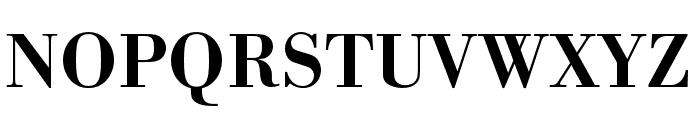 Bodoni URW Extra Wide Medium Font UPPERCASE