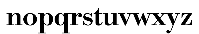 Bodoni URW Extra Wide Medium Font LOWERCASE