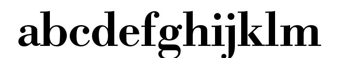 Bodoni URW Medium Font LOWERCASE