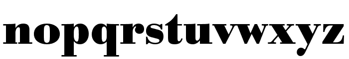 Bodoni URW Narrow Bold Font LOWERCASE