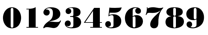 Bodoni URW Narrow Extra Bold Font OTHER CHARS