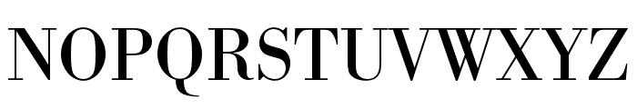 Bodoni URW Narrow Regular Font UPPERCASE