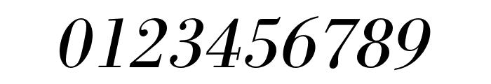 Bodoni URW Wide Regular Oblique Font OTHER CHARS