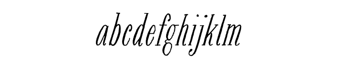 Bookeye Sadie Roman Font LOWERCASE
