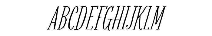 Bookeyed Martin Regular Font UPPERCASE