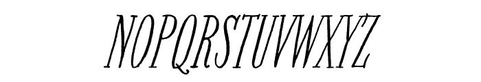 Bookeyed Nelson Regular Font UPPERCASE