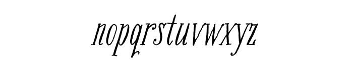 Bookeyed Nelson Regular Font LOWERCASE
