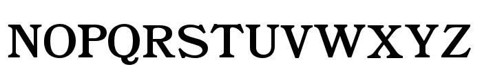 BookmanJFPro Roman Font UPPERCASE