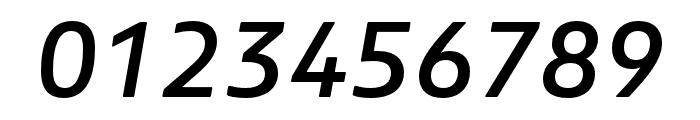 Boreal Medium Italic Font OTHER CHARS
