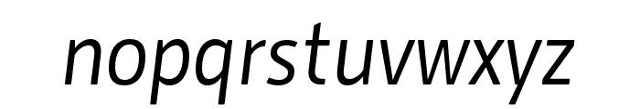 Botanika Italic Font LOWERCASE