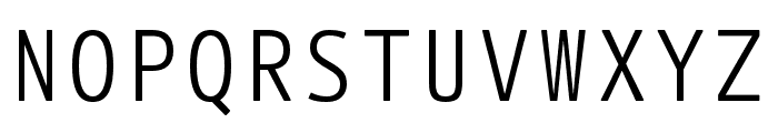 Botanika Mono Regular Font UPPERCASE