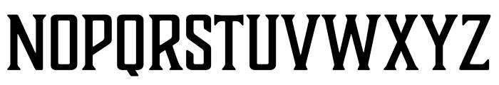 Boucherie Block Italic Font UPPERCASE