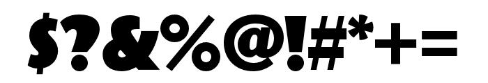 Bovine Round MVB Regular Font OTHER CHARS