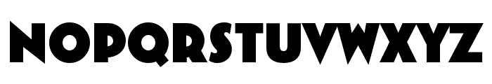 Bovine Round MVB Regular Font UPPERCASE
