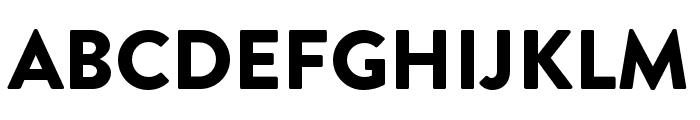 Brandon Grotesque Black Font UPPERCASE