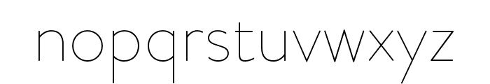 Brandon Grotesque Light Italic Font LOWERCASE