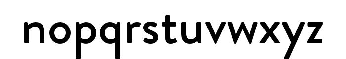 Brandon Grotesque Medium Font LOWERCASE